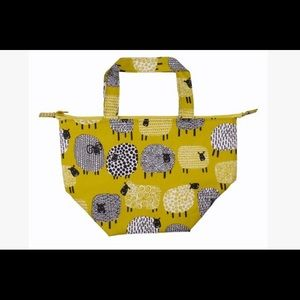 NWT Ulster Weavers Dotty Sheep lunch tote